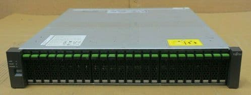 Fujitsu Eternus DX40 S2 DE Disk Expansion Shelf ETNAD2CU With 24x 300GB 10K HDD